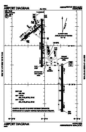 Abilene Regional Airport (ABI) diagram