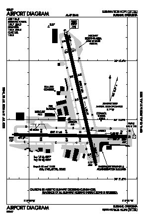 Bob Hope Airport (BUR) diagram