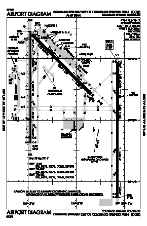 City Of Colorado Springs Municipal Airport (COS) diagram