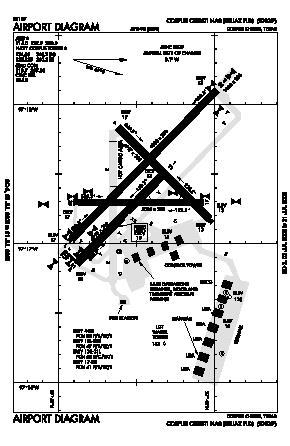 Corpus Christi Nas/truax Field Airport (NGP) diagram