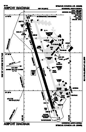 Seymour Johnson Afb Map Seymour Johnson Afb Airport (GSB)   Map, Aerial Photo, Diagram Seymour Johnson Afb Map