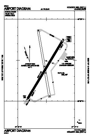 Houlton International Airport (HUL) diagram