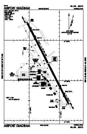 Hill Afb Airport (HIF) diagram