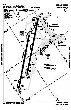 Luke Afb Airport (LUF) diagram