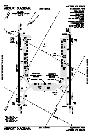 Randolph Afb Airport (RND) diagram