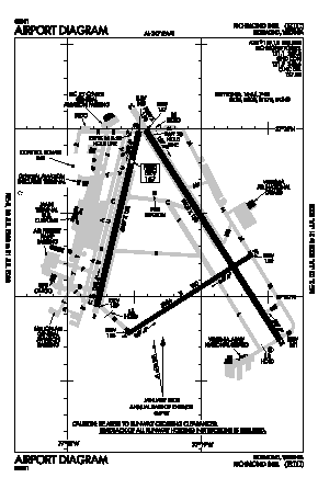 Richmond International Airport (RIC) diagram