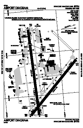 Syracuse Hancock International Airport (SYR) diagram