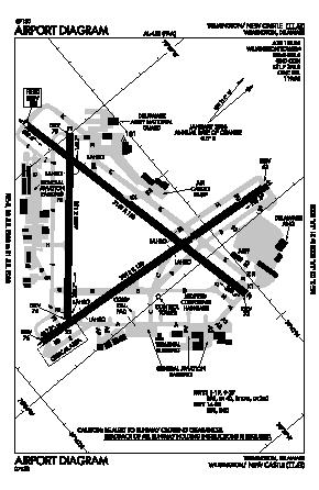 New Castle Airport (ILG) diagram