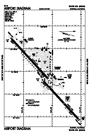 Travis Afb Airport (SUU) diagram