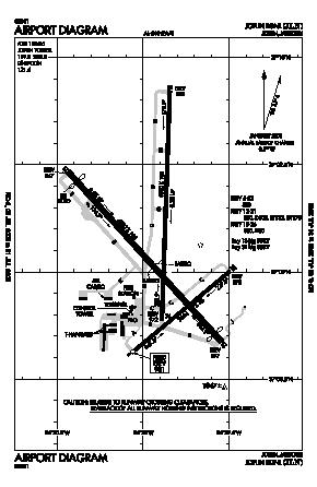 Joplin Regional Airport (JLN) diagram