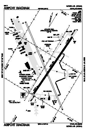 Dover Afb Airport (DOV) diagram
