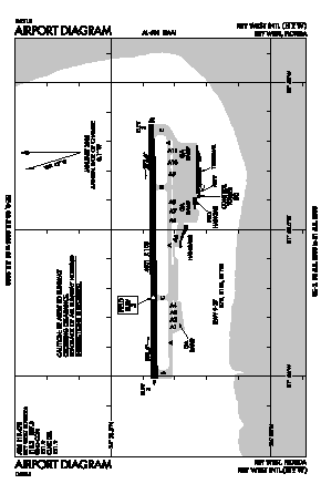 Key West International Airport (EYW) diagram
