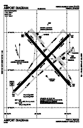 Barkley Regional Airport (PAH) diagram