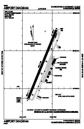 Charlottesville-albemarle Airport (CHO) diagram