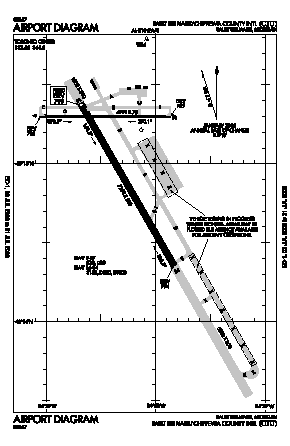 Chippewa County International Airport (CIU) diagram