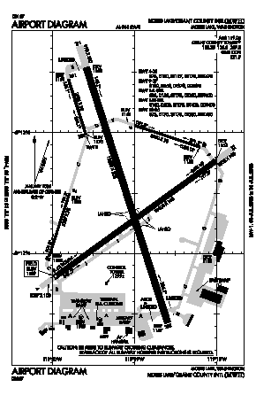 Grant Co International Airport (MWH) diagram