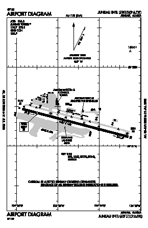 Juneau International Airport (JNU) diagram