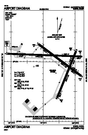 Kodiak Airport (ADQ) diagram