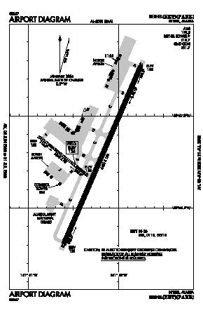 Bethel Airport (BET) diagram