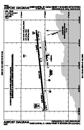 Henry E Rohlsen Airport (STX) diagram