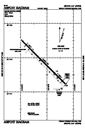 Michael Aaf (dugway Proving Ground) Airport (DPG) diagram