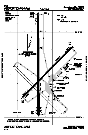 Stillwater Regional Airport (SWO) diagram