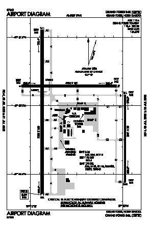 Grand Forks International Airport (GFK) diagram