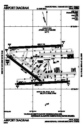 Kendall-tamiami Executive Airport (TMB) diagram