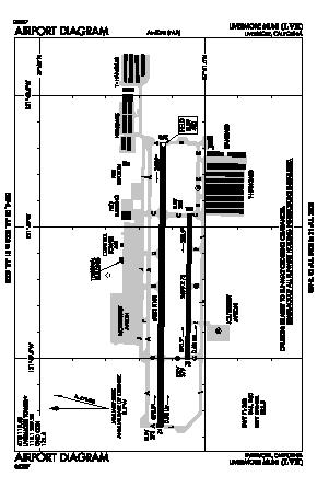 Livermore Municipal Airport (LVK) diagram