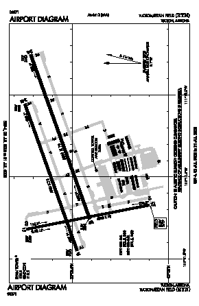 Ryan Field Airport (RYN) diagram