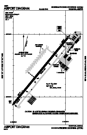 Phoenix Goodyear Airport (GYR) diagram