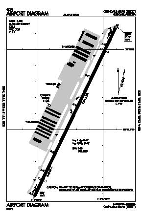 Glendale Municipal Airport (GEU) diagram