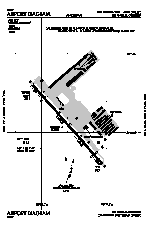 Whiteman Airport (WHP) diagram