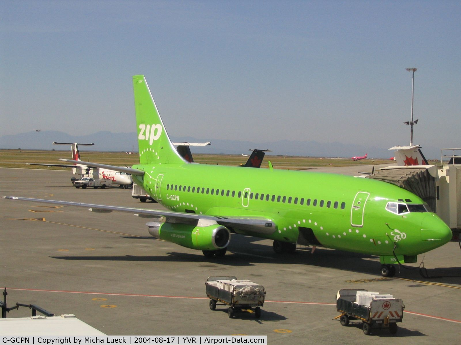 C-GCPN, 1979 Boeing 737-217 C/N 21717, The Green Bumble Bee of the West