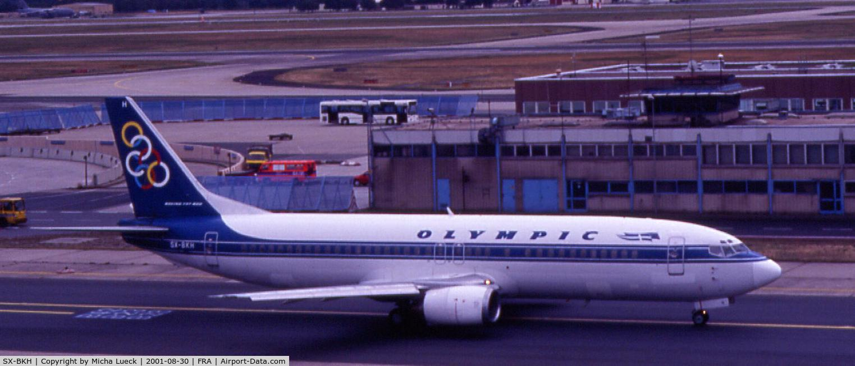 SX-BKH, 1990 Boeing 737-4Q8 C/N 24703, Olympic Airways 737-400