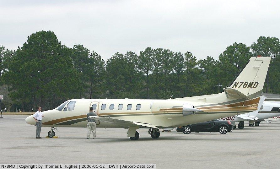 N78MD, 2001 Cessna 550 C/N 550-0970, Cessna 550 @ DWH