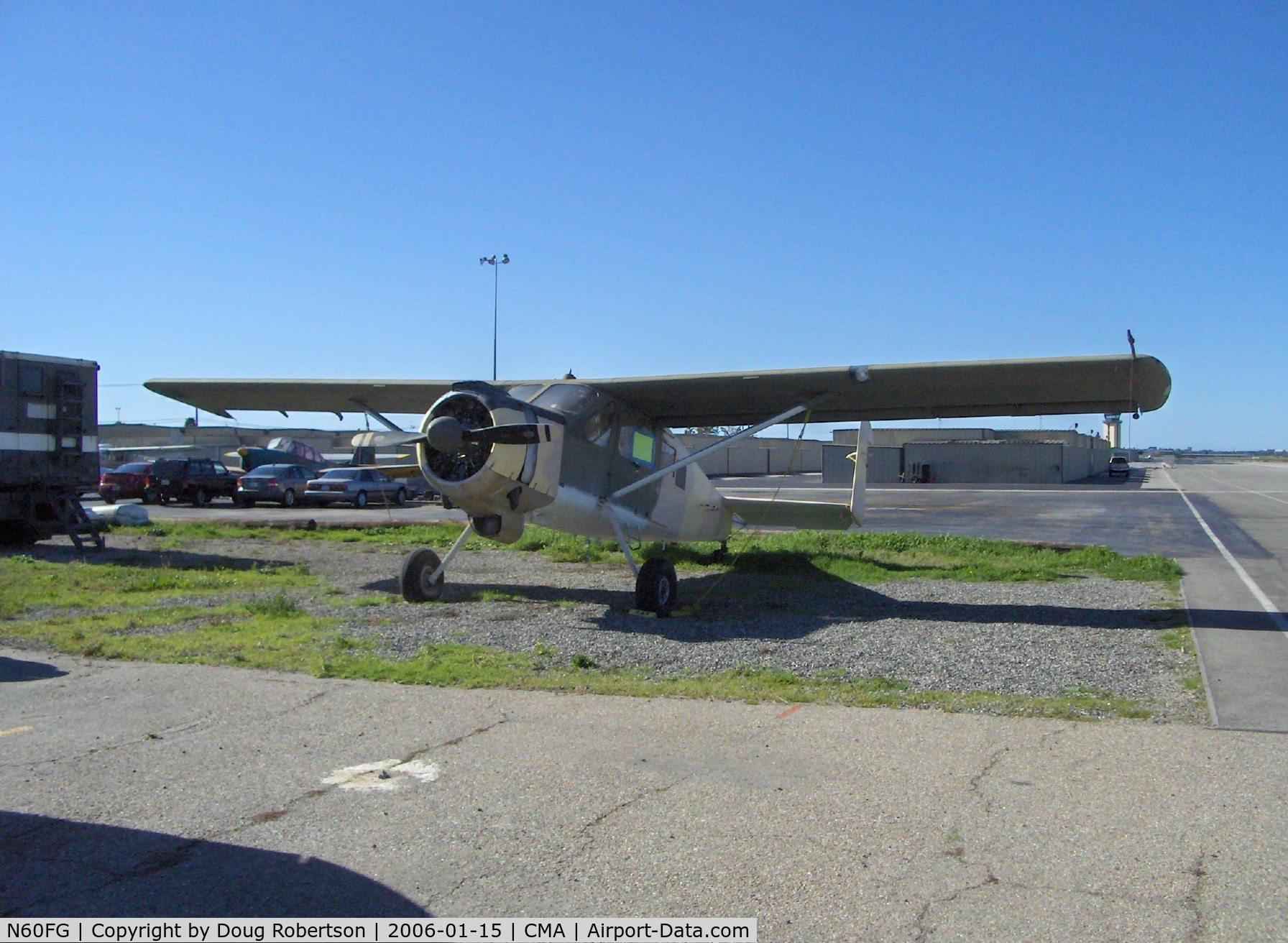 N60FG, Holste MH-1521M Broussard C/N 214, 0000 Max Holste M.H. 1521M BROUSSARD, P&W R-985-AN Wasp, 450 Hp, minus a flap, an aileron and its rudders