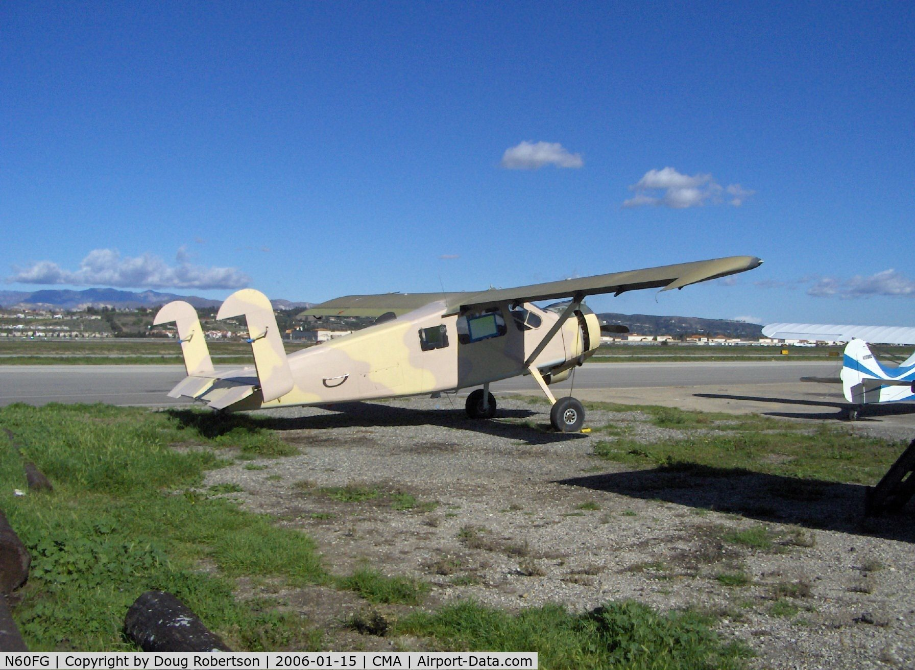 N60FG, Holste MH-1521M Broussard C/N 214, 0000 Max Holste M.H.1521M BROUSSARD, P&W R-985-AN Wasp, 450 Hp, minus its rudders, a flap and an aileron