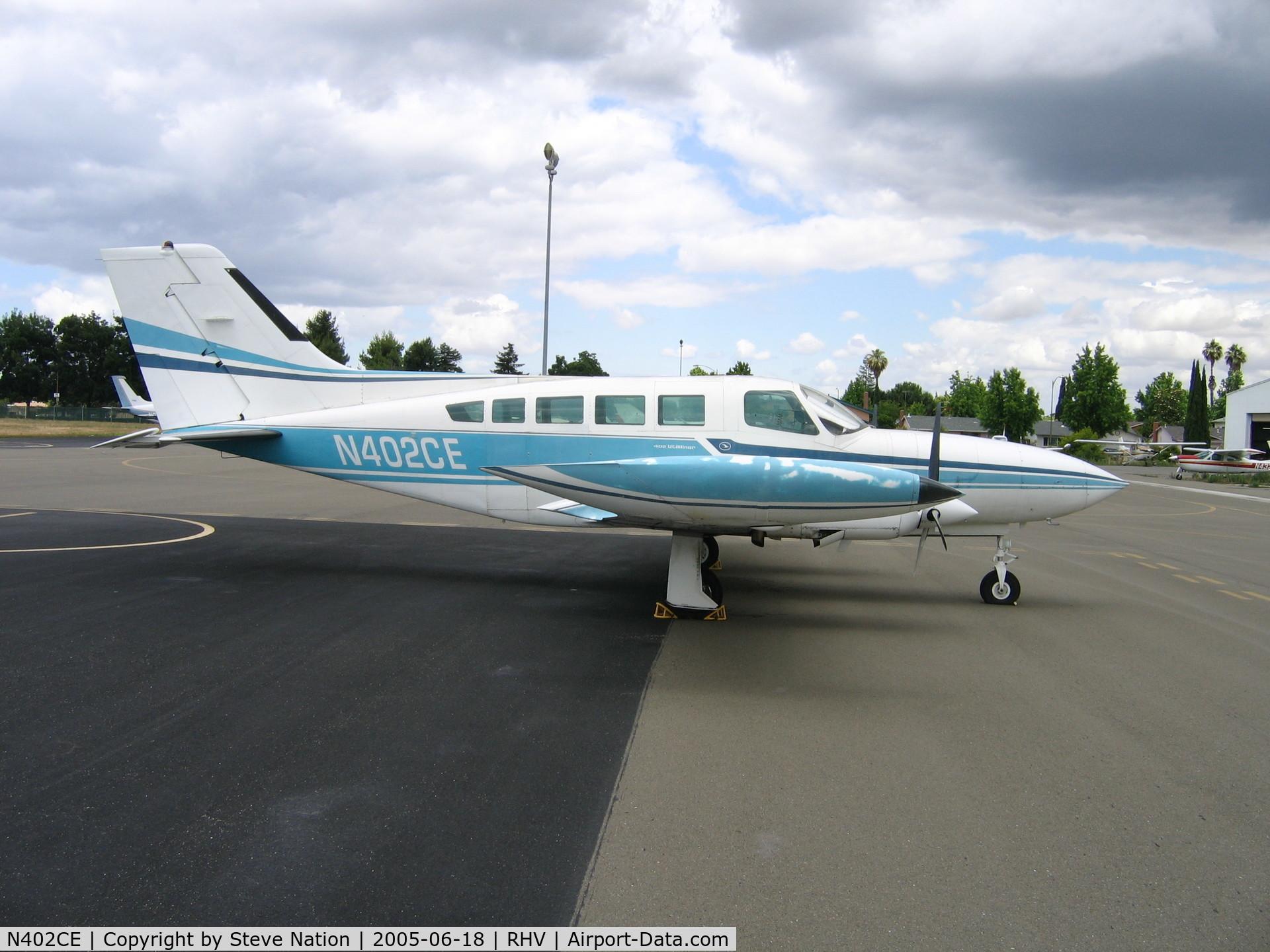 N402CE, 1973 Cessna 402B Utiliner C/N 402B0364, California Nice Air 1973 Cessna 402B at Reid-Hillview Airport, San Jose, CA