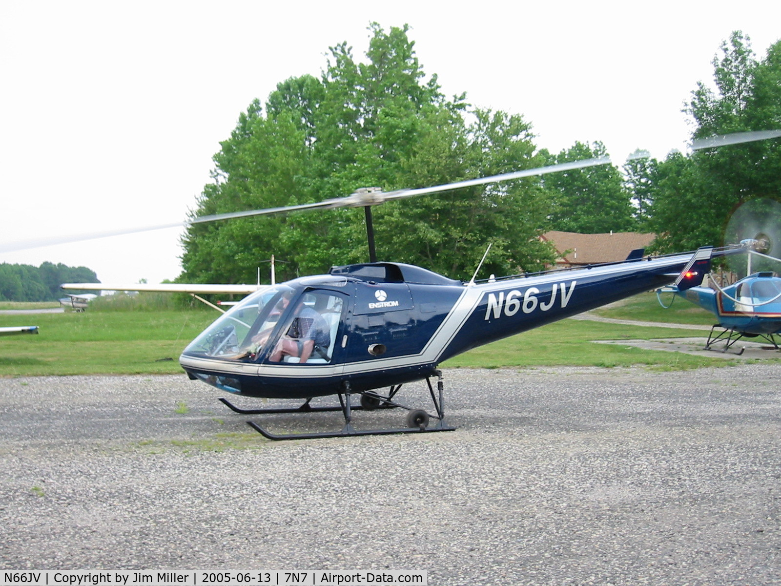 N66JV, 1978 Enstrom 280C Shark C/N 1151, 280c converted to 290FX
