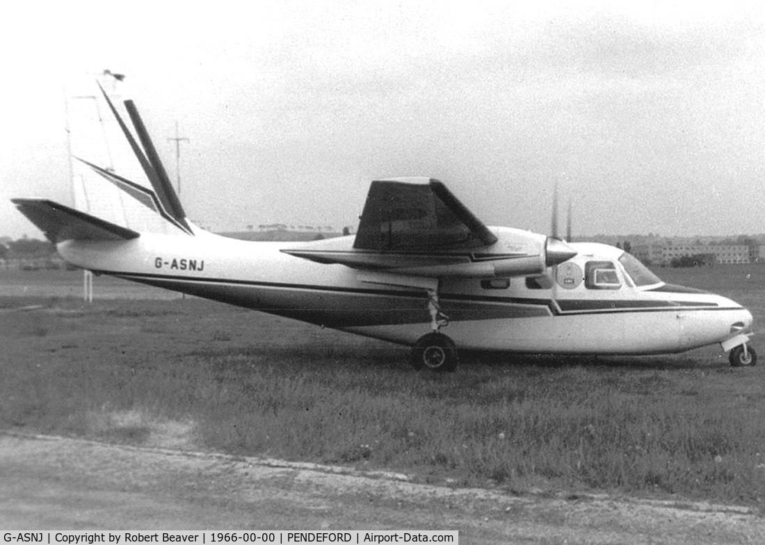 G-ASNJ, Aero Commander 500A C/N 1272-95, Aero Commander 500A (Wolverhampton Pendeford-closed)