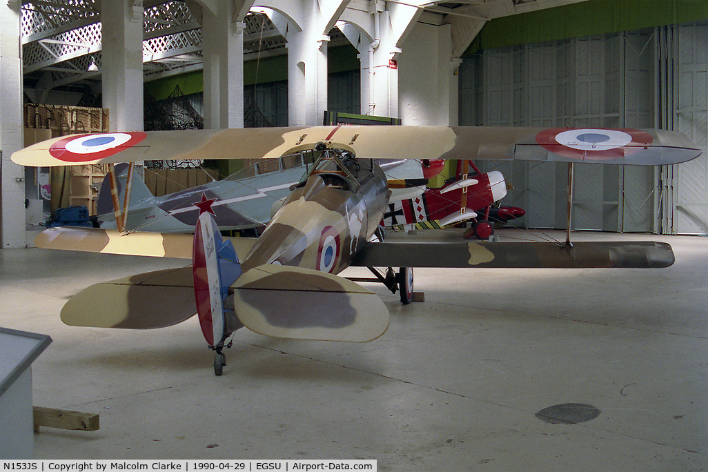 N153JS, 1980 Nieuport 24 Replica C/N 02JS, Nieuport 24 Replica at the Imperial War Museum, Duxford.