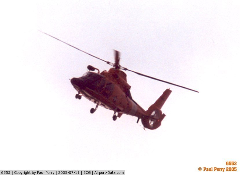 6553, Aerospatiale HH-65C Dolphin C/N 6035, Dolphin headed my way