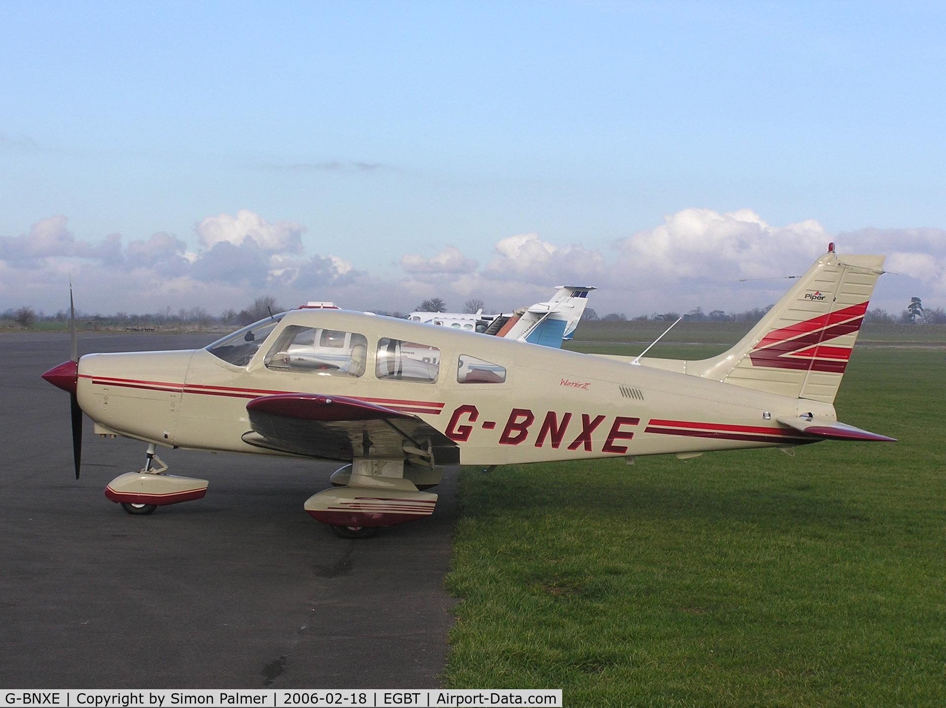 G-BNXE, 1981 Piper PA-28-161 C/N 28-8116034, PA28 at Turweston