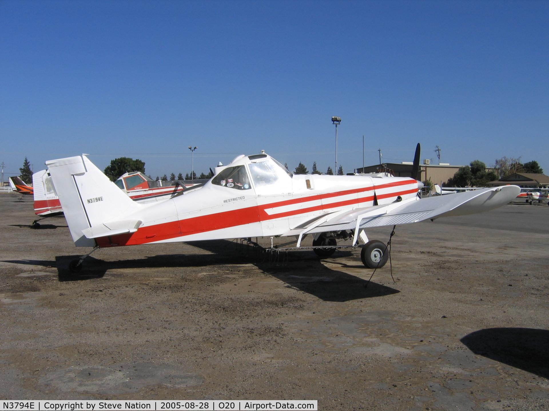 N3794E, 1978 Piper PA-36-375 Brave 375 C/N 36-7802003, San Joaquin Air 1978 Piper PA-36-375 Brave rigged as sprayer @ Lodi-Kingdon Airport, CA