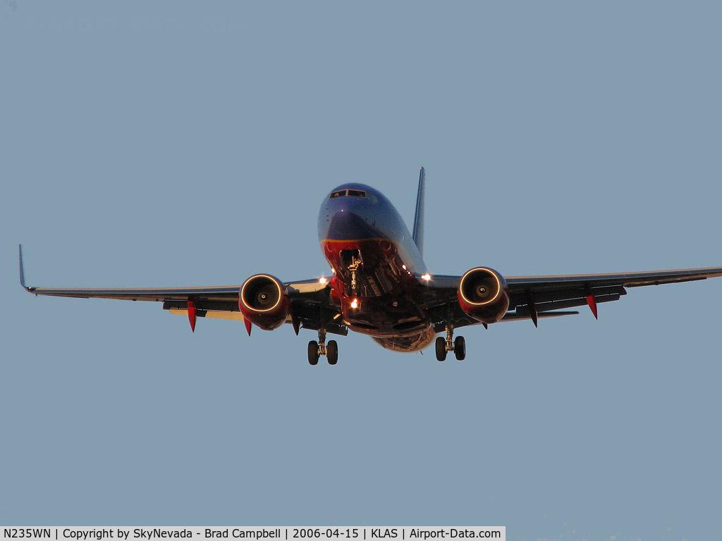 N235WN, 2006 Boeing 737-7H4 C/N 34630, Southwest Airlines /  Boeing 737-7H4