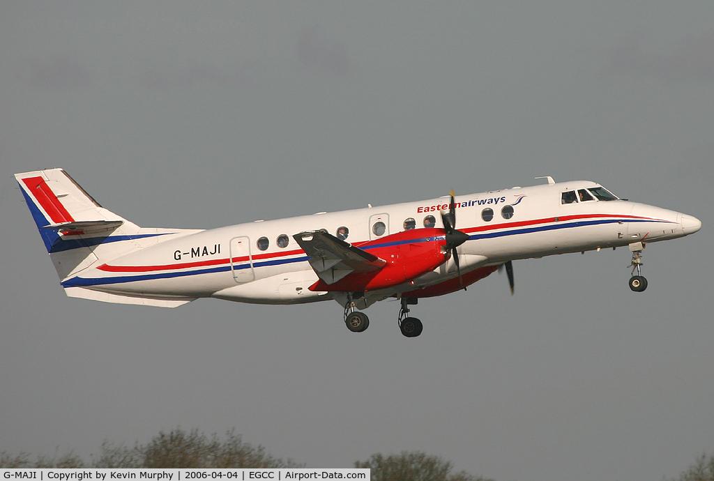 G-MAJI, 1993 British Aerospace Jetstream 41 C/N 41011, Eastern's little Jetstream departing 06L.