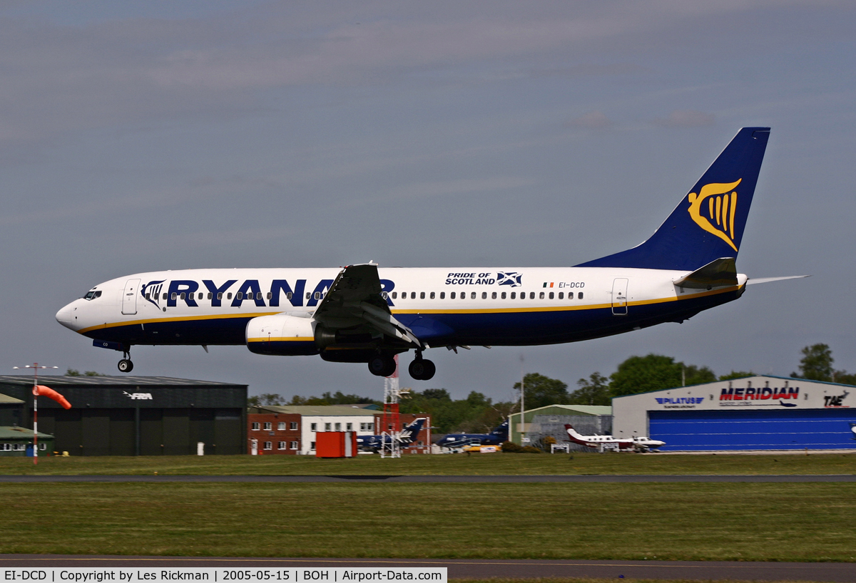 EI-DCD, 2004 Boeing 737-8AS C/N 33562, Boeing 737 8AS