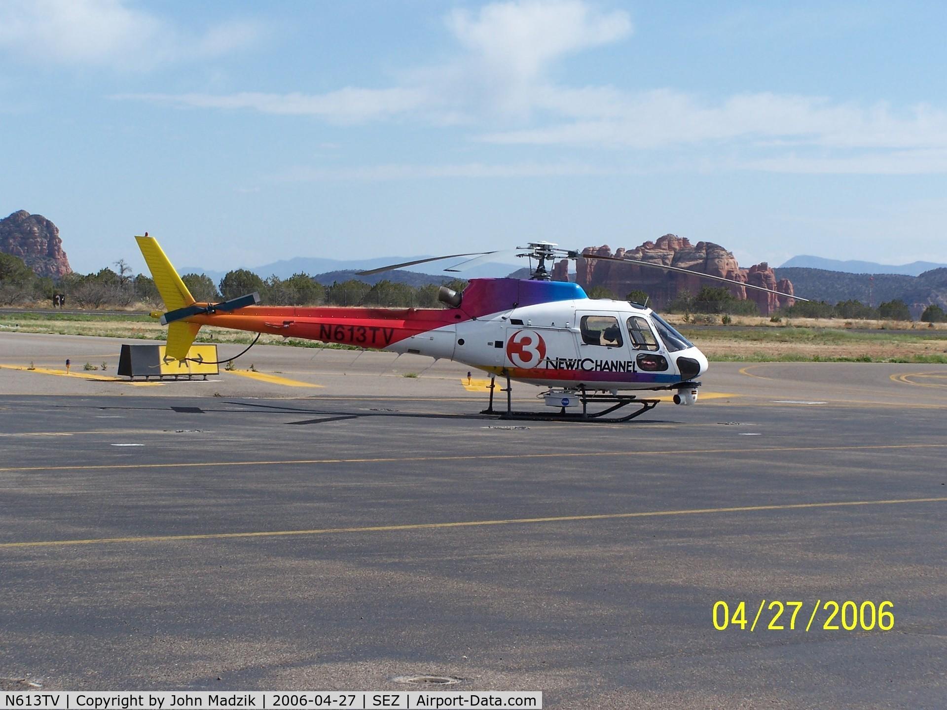 N613TV, 2007 Eurocopter AS-350B-2 Ecureuil C/N 4291, Sedona Airport