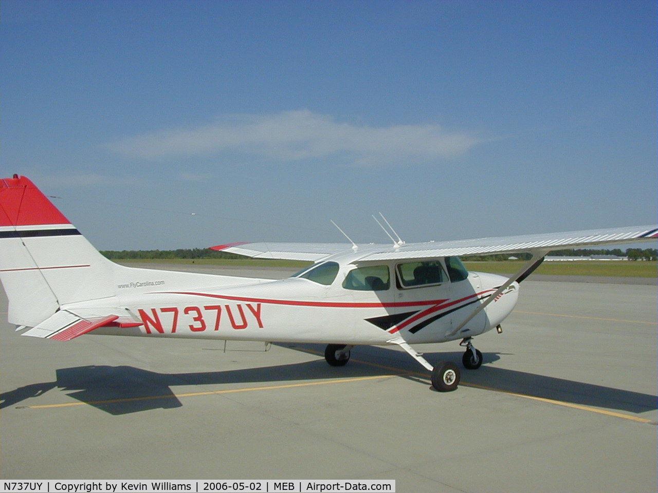 N737UY, 1977 Cessna 172N Skyhawk C/N 17269696, Cessna 172N (FlyCarolina)